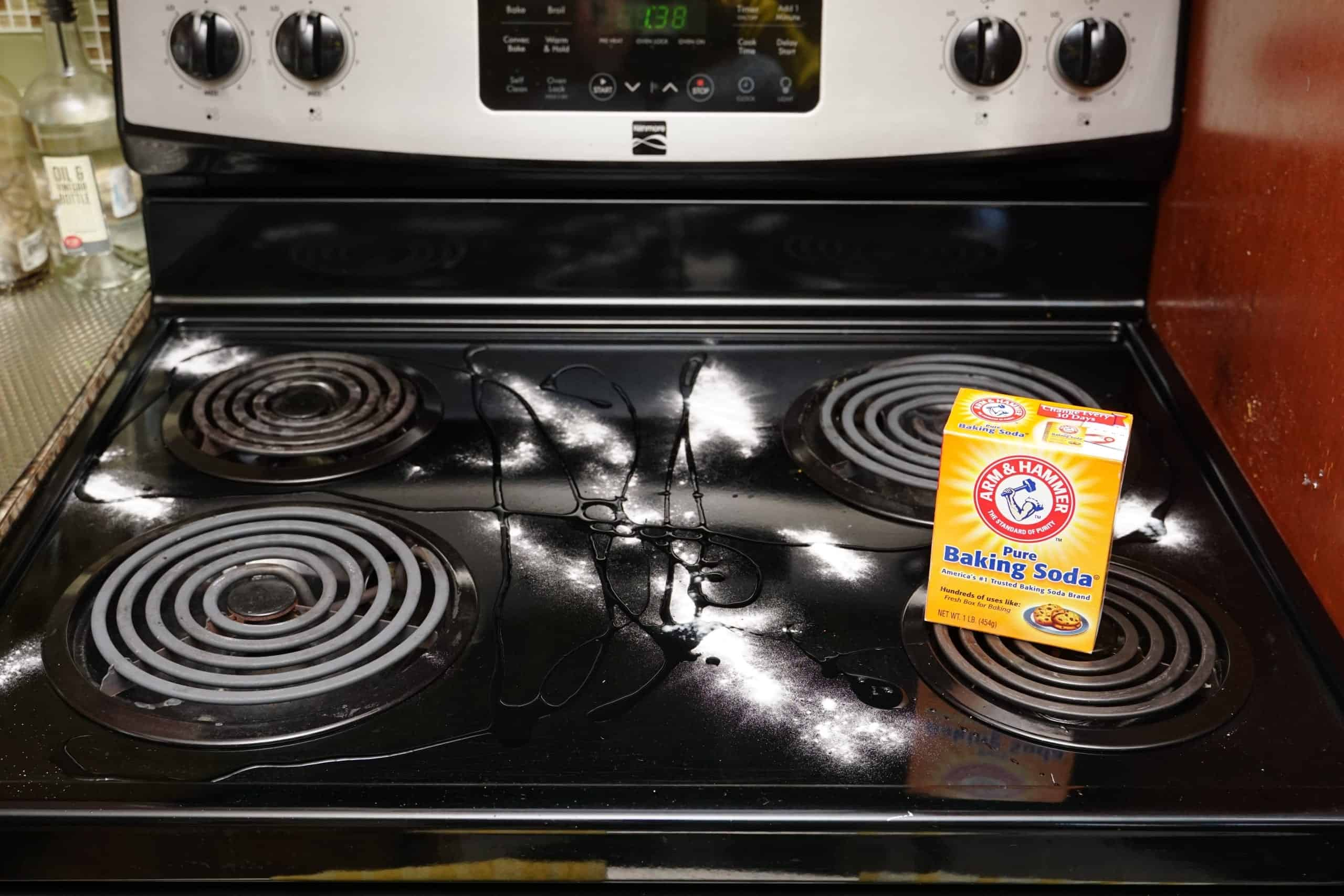 The Quickest And Easiest Way To Clean Your Glass Stove Top Or Any Stove Top In Less Than 2 Minutes